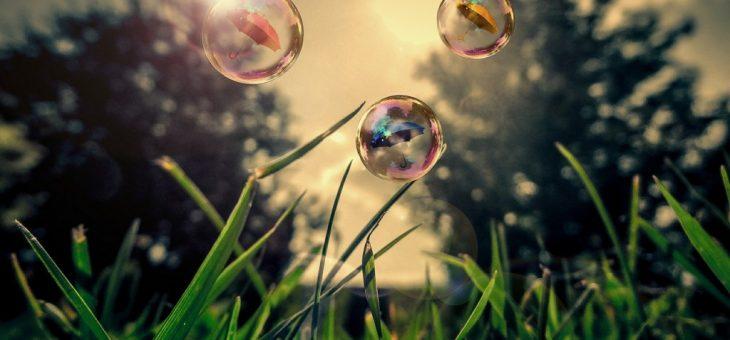 Rozprávka o dievčatku v mydlovej bublinke
