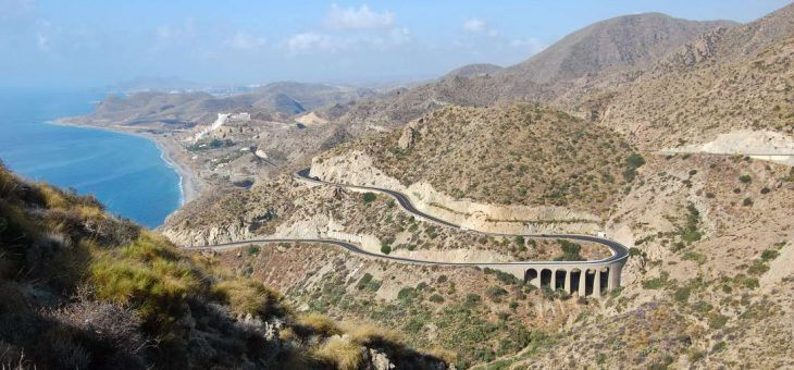 Smer Andalúzia a vysoký Mulhacén
