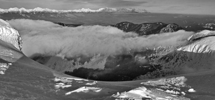 Čiernobiela zima – spomienka