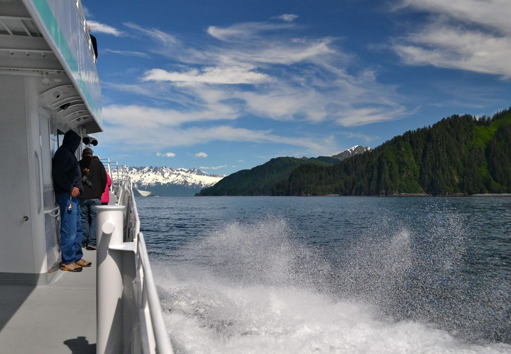 Plavba k ľadovcu Aialik