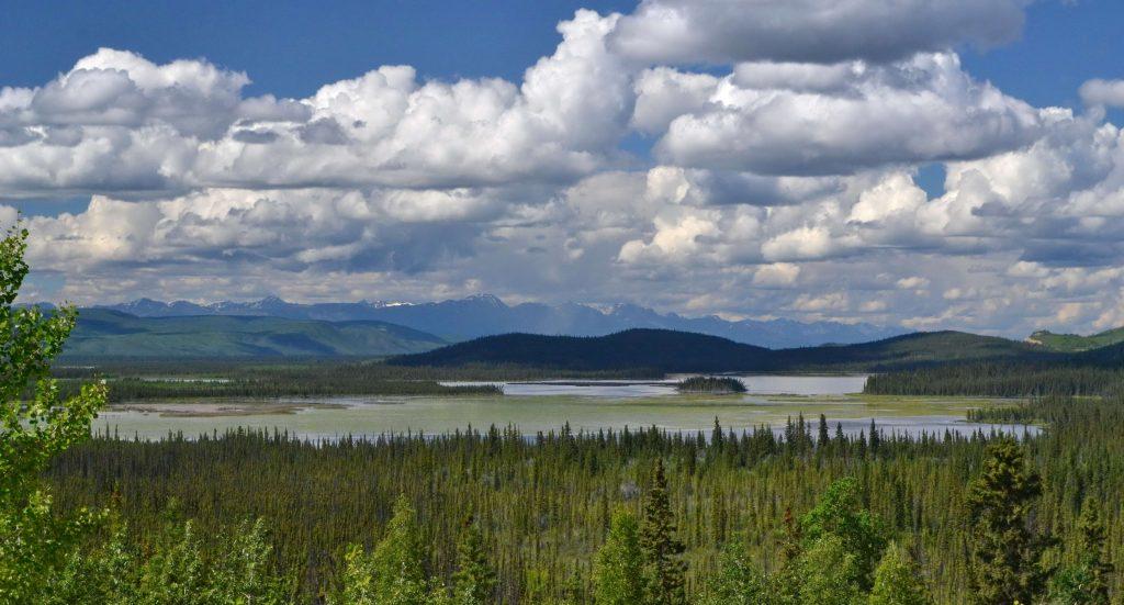 Mokrade a jazerá Aljašky