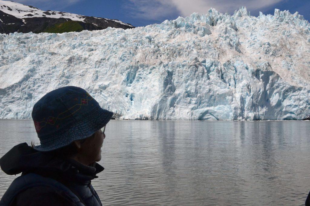 Každú chvíľu sa do mora zrútili obrovské kusy ľadu