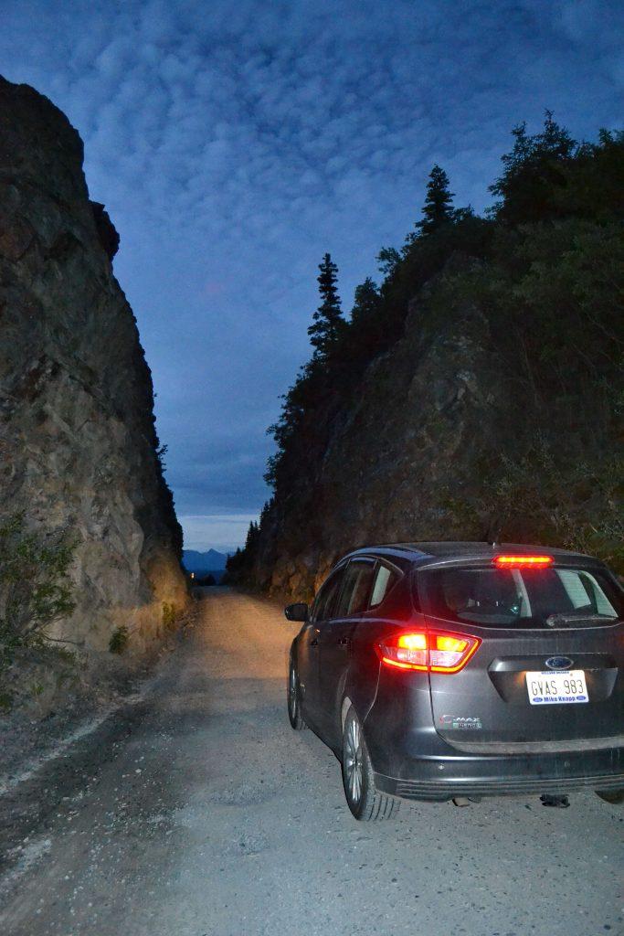 Svetlá noc na Aljaške