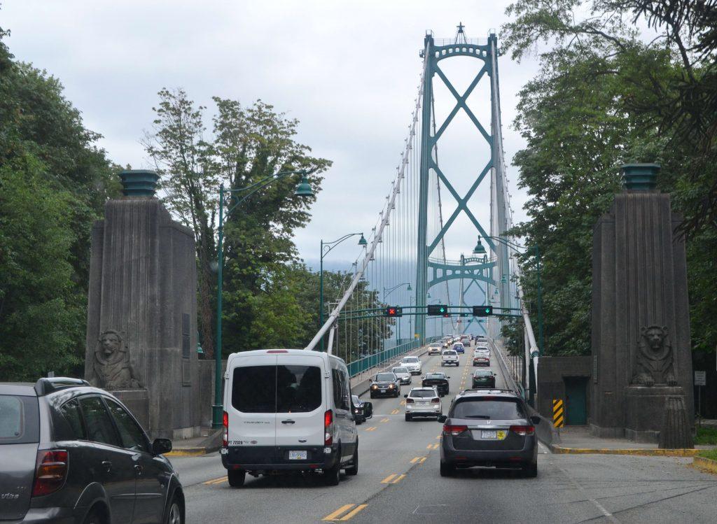Hustá premávka hlavného mesta Vancouver