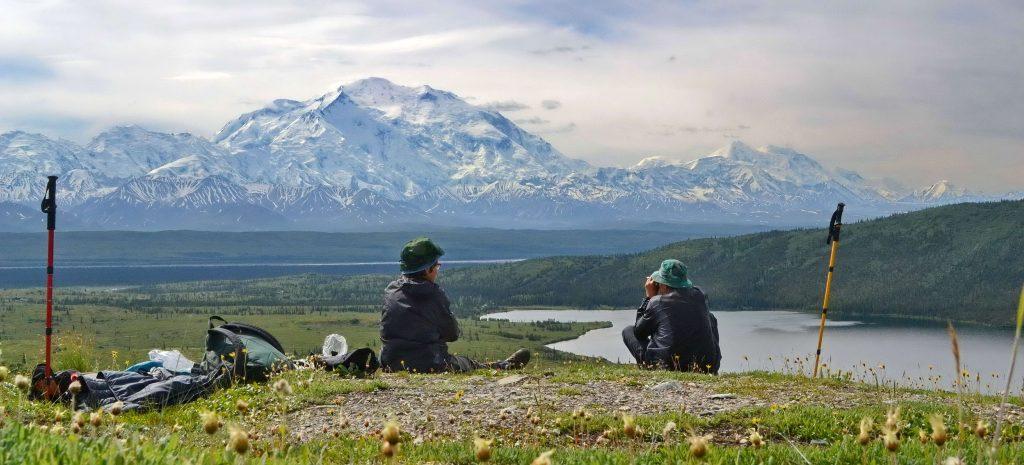 Wander Lake Aljaška Denali