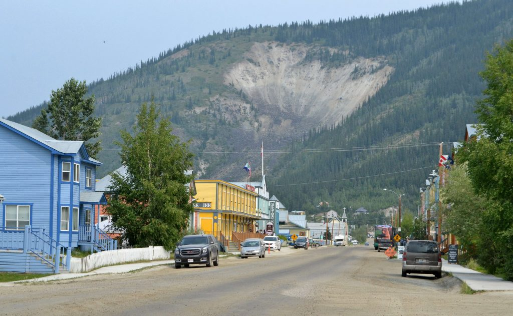 Opúšťame Dawson City