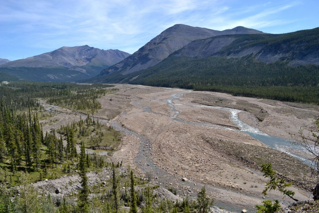 Posledný pohľad na hory a divé údolia Britskej Kolumbie