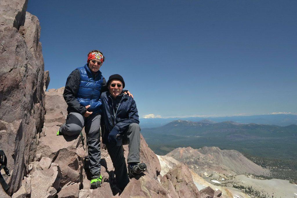Na vrchole Lassen Peak 3.187 m