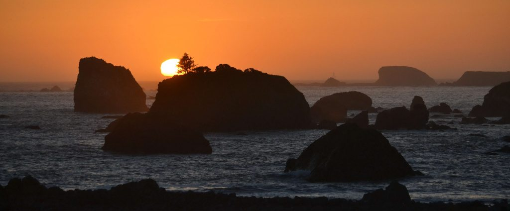 Večer na Pacifiku